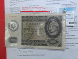 1940 Poland Litzmannstadt Concentration Camp Nazi Stamp WW II. Possibly a fantasy note.