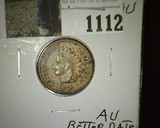1876 Better date and grade U.S. Indian Head Cent.