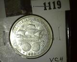 1893 Columbian Exposition Commemorative Half Dollar, very attractive.