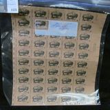 50-Stamp Mint Sheet of Six Cent Wildlife Conservation