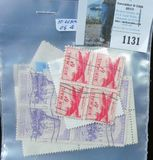 (10) Used Blocks of four U.S. Stamps.