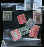 (7) Early U.S. Stamps, all different.