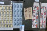 (122) Mint U.S. Stamps, face value $16.56.