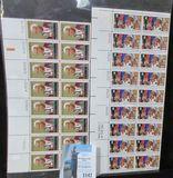 (66) Mint U.S. Stamps, face value $6.40.