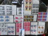 (14) Mint Blocks of Four or Plateblocks of U.S. Stamps. $3.64 face value.