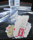 (33) All different Air Mail & (10) miscellaneous cut envelope stamps.