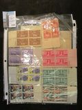 (11) various Plate blocks of Mint U.S. Stamps.