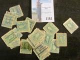 (25) Scott # 300 U.S. Stamps, used.