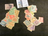 (2) Groups of 28 all different U.S. Stamps.