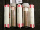 (10) Rolls of Wheat Cents dating in the 1936-50 era. Solid date Rolls.