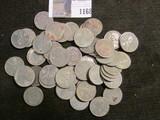 (50) 1943 D World War II Steel Cents.