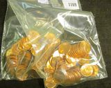 (100) 1974 D BU Lincoln Cents.