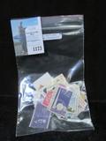 Over (65) U.S. Stamps, some damaged.