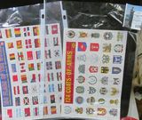 Pair of sheets of Stickers