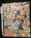 (73) various Foreign Stamps.