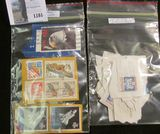 (8) U.S. Stamps, (4) of which are of Higher value & (25) Scott # O-152 Official Mail Stamps.