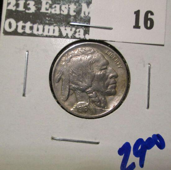 1916 Buffalo Nickel With Full Horn