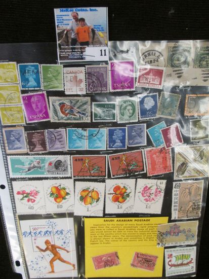(45) Miscellaneous Foreign Stamps.