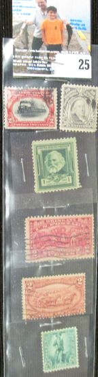 (6) Higher catalog value U.S. Stamps.