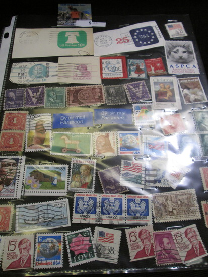 (55) Miscellaneous U.S. Stamps.