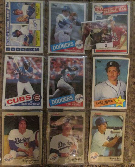 Group Of Nine Old Baseball Cards Including Several Better Players.
