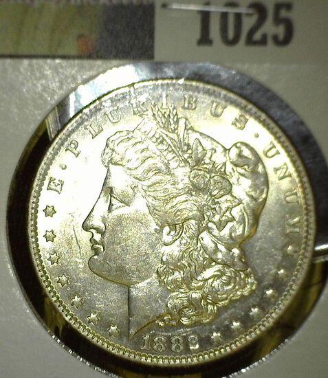1882 O Morgan Silver Dollar, High grade.