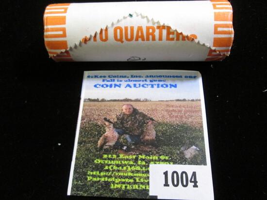 2003 Denver Mint Original Roll of Illinois Statehood Commemorative Quarters. Gem BU. (40 pcs.).