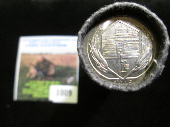 2015 D Original U.S. mint-wrapped Roll of America the Beautiful Homestead National Mounument of Amer