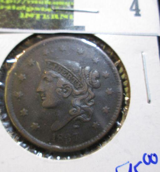 Upgrade 1837 Coronet Head Large Cent