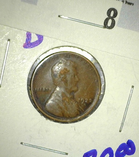 1922-D Wheat Cent