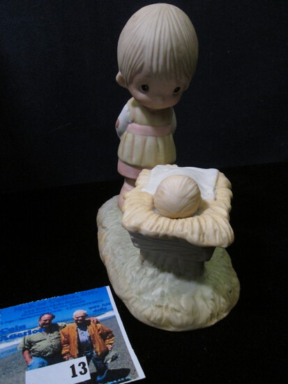"1978 Jonathan & David ""Come Let Us Adore Him"" Porcelain Figurine."