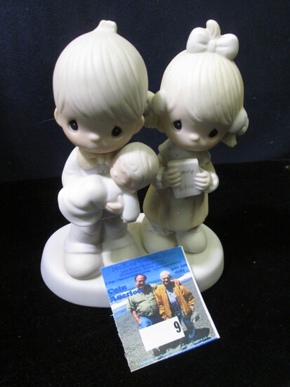 "1980 Jonathan David ""Rejoicing With You"" E-4724 Porcelain Figurine."