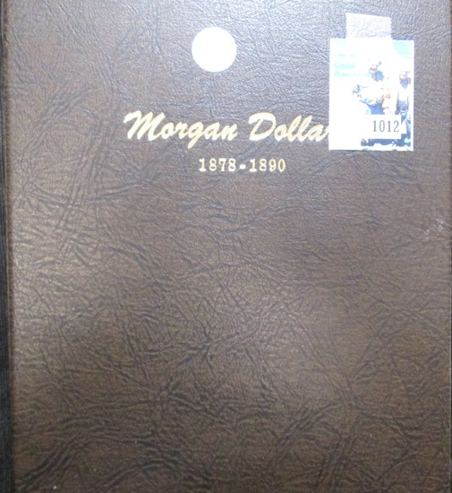 Dansco Morgan Silver Dollar Album From 1878-1890