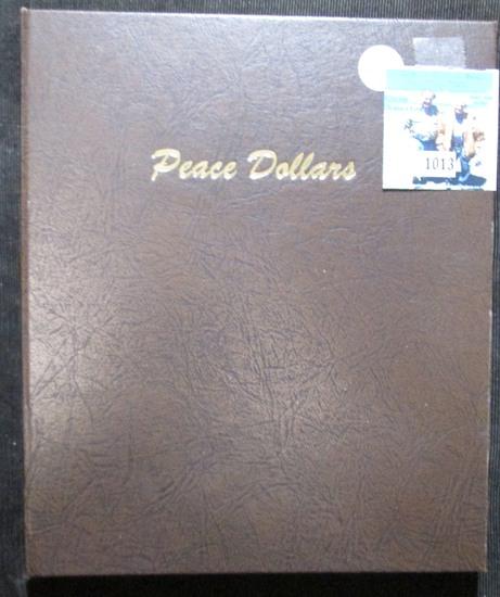 Dansco Peace Dollar Coin Album From 1921-1935