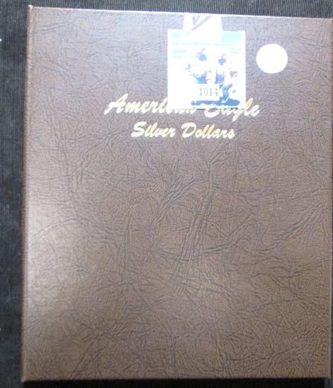 Dasnco American Silver Eagle Book From 1986-2012
