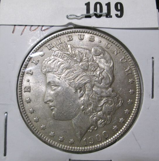 1900 P Morgan Silver Dollar