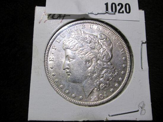 1904 P Morgan Silver Dollar