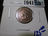 1886 Type 1 Indian Head Cent, Cleaned