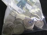 (58) Lower Grade V Nickels