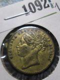 1838 Queen Victoria Token