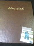 Dansco Liberty Nickels Book From 1883- 1912