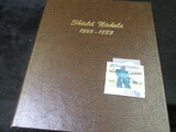 Dansco Shield Nickel Book From 1866-1883