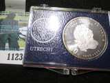 Netherlands Silver 50 Gulden 300th Anniversary Of King William & Queen Mary
