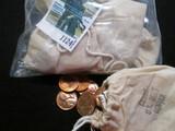 (5) Mini Mint Bags of Gem BU Memorial Cents
