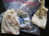 (5) Mini Mint Bags Of Memorial Cents
