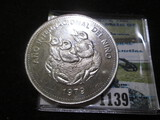 Costa Rica 1979 Silver Proof 50 Colones Dated 1979