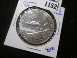 1964 Silver 50 Schilling Winter Olympics Coin
