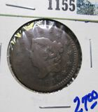 1816 Coronet Head Large Cent