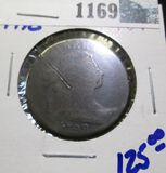 1798 Draped Bust Large Cent