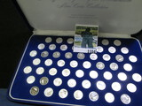 56- 1 Gram Silver Mini Rounds With The Signors Of The Declaration Of Independence